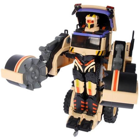 Купить Робот-трансформер на радиоуправлении 1 Toy «Строительный каток»