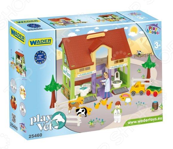 «Домик ветеринар» Набор игровой для девочки Wader «Домик ветеринара»