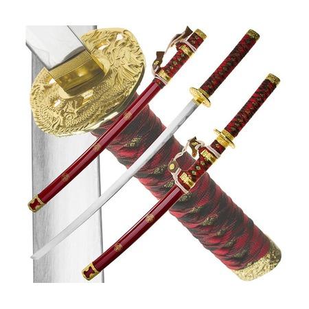 Купить Набор из двух самурайских мечей Dark Age JP-616 Dragon
