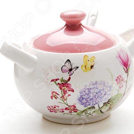 цена на Сахарница Loraine LR-25631 «Бабочки»