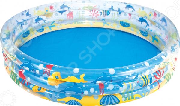 Бассейн надувной Bestway «Подводный мир» 51004B Бассейн надувной Bestway «Подводный мир» 51004B /