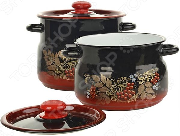 Набор посуды «Рябинка» N10L05