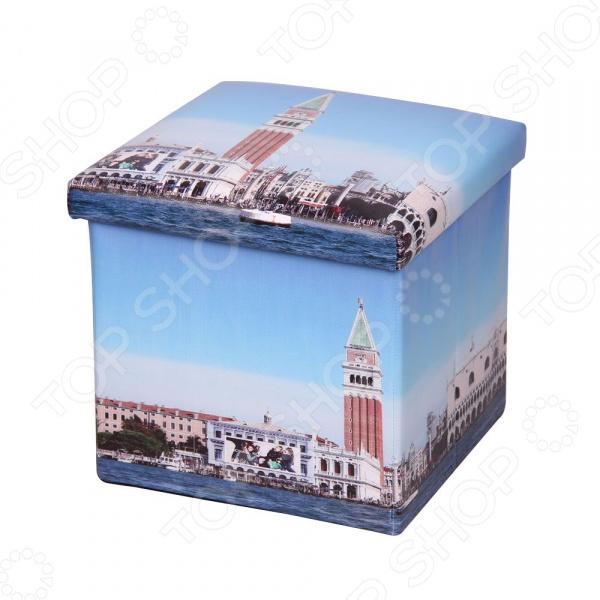 Пуф-короб для хранения Miolla City Tower