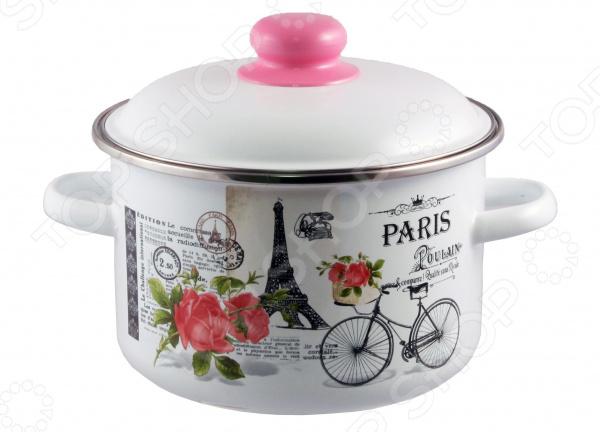 Кастрюля эмалированная Appetite «Париж»