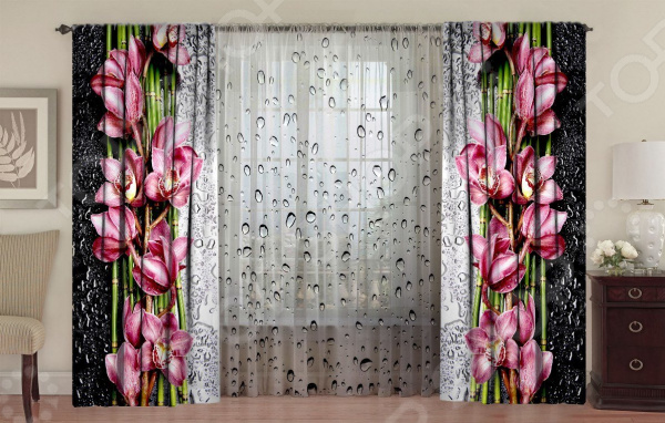 Комплект ТамиТекс Орхидея на стекле