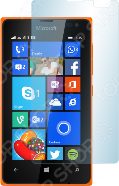 Стекло защитное skinBOX Microsoft Lumia 435/Lumia 532 чехлы для телефонов skinbox microsoft lumia 435 shield 4people
