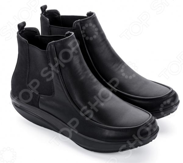 Ботинки мужские Walkmaxx Стильный Комфорт. Цвет: черный