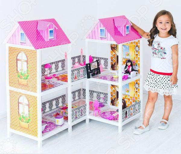 Кукольный дом с аксессуарами PAREMO PPCD116-03