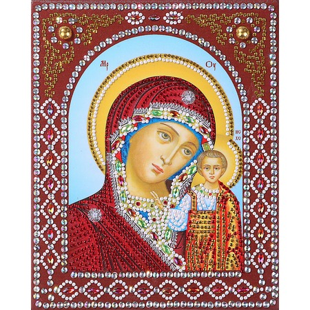 Купить Набор для творчества Color Kit «Алмазная живопись. Пресвятая Богородица Казанская»