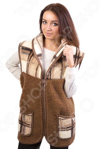 Жилет утепленный WoolHouse с воротником жилет утепленный мужской woolhouse матео
