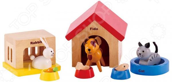 Игровой набор Hape «Домашние животные»