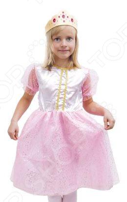 Костюм карнавальный для девочки Новогодняя сказка «Принцесса» CH297