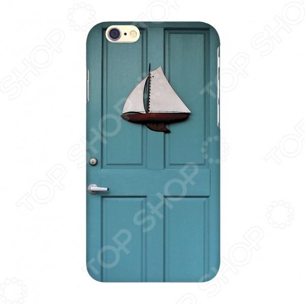 Чехол для IPhone 6 Mitya Veselkov «Голубая дверь» чехлол для ipad iphone mitya veselkov чехол для iphone 6 гагарин ip6 мitya 016
