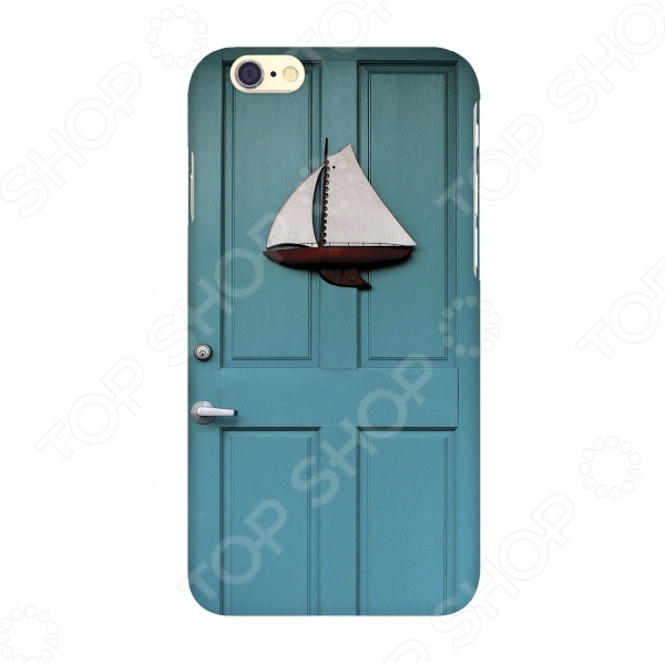 Чехол для IPhone 6 Mitya Veselkov «Голубая дверь» mitya veselkov чехол для iphone 6 скандинавская лошадка