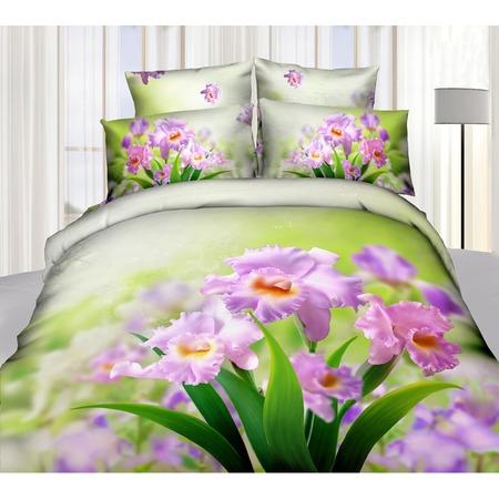 Купить Комплект постельного белья Mango «Ирисы». 1,5-спальный