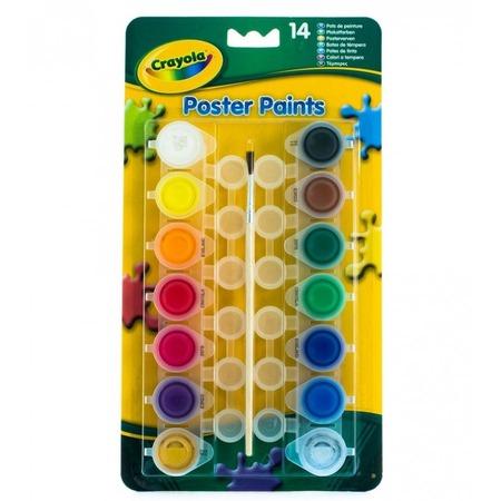 Набор красок Crayola «Poster paints»