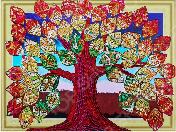 Набор для творчества «Алмазная мозаика». Рисунок: «Денежное дерево»