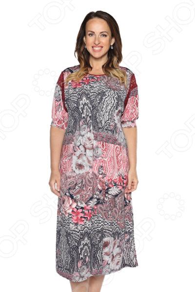Платье Лауме-Лайн «Гавана» . Цвет: бордовый платье лауме лайн царица цвет бордовый