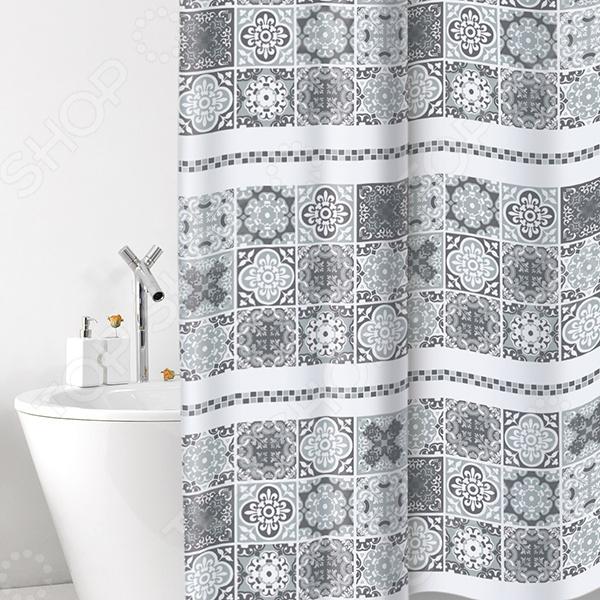 Штора для ванной Bacchetta Cementine бордюр mainzu cementine verde 2x20