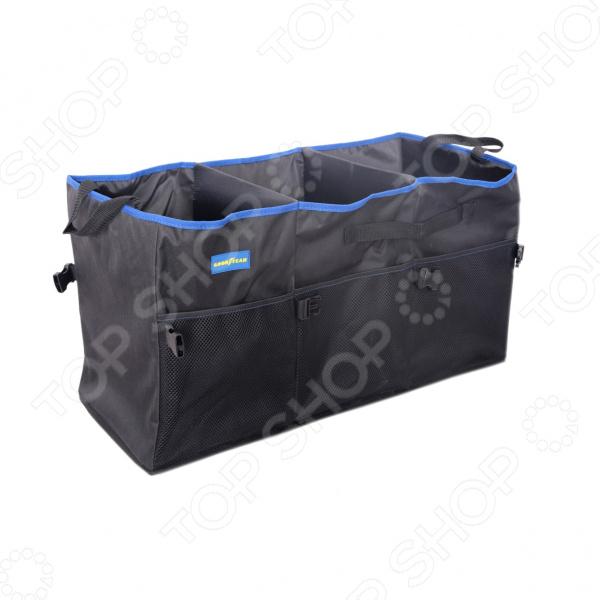 Органайзер в багажник Goodyear с 3 секциями