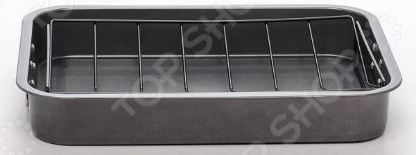 Противень с решеткой Bekker BK-3988 противень для картошки фри bekker bk 3962