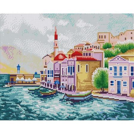 Купить Набор для творчества Color Kit «Алмазная мозаика». Рисунок: «Морской пейзаж»