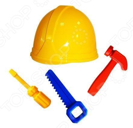 Игровой набор для мальчика Пластмастер «Ремонтник» пластмастер игровой набор строймаркет цвет синий белый
