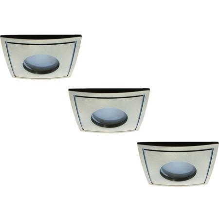 Купить Светильник встраиваемый для ванной Arte Lamp Aqua A5444PL-3AB