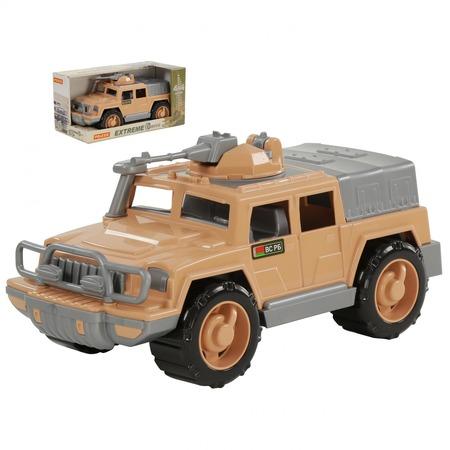 Купить Машинка игрушечная POLESIE «Джип военный. Защитник-Сафари» №1 с 1-м пулемётом