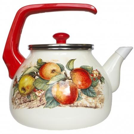 Купить Чайник со свистком Interos «Яблоки»