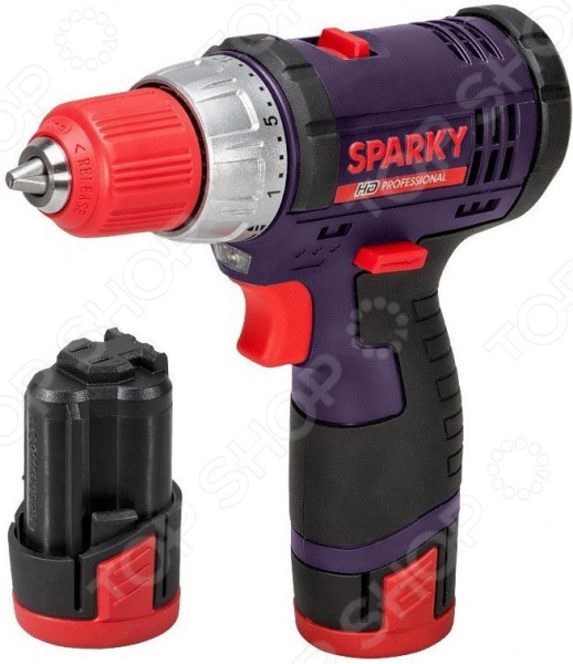 Дрель-шуруповерт аккумуляторная Sparky BR2 10.8Li-C HD аккумуляторная отвертка sparky gr 3 6li