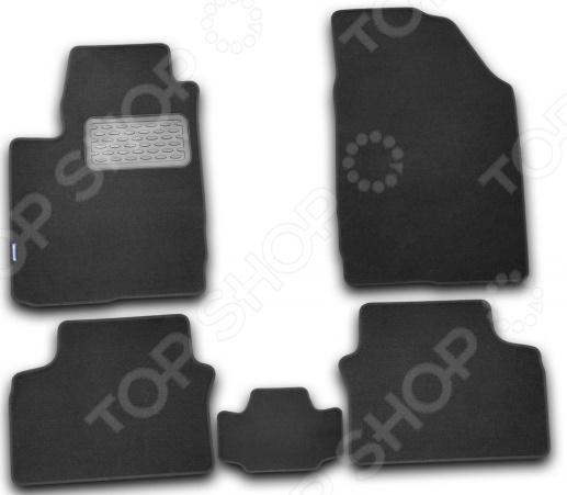 Комплект ковриков в салон автомобиля Novline-Autofamily Chery M11 2010 комплект 3d ковриков в салон автомобиля novline autofamily ford mondeo 2015