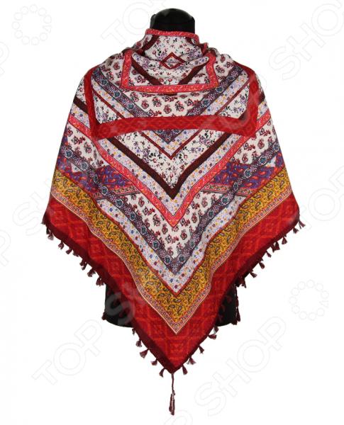 Платок Bona Ventura PL.XL-H.Pr.29 недорогой платок на шею для женщин
