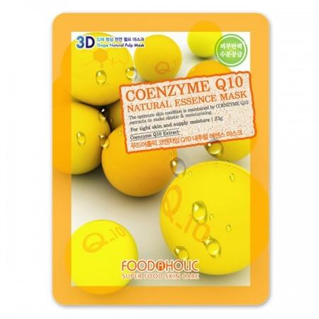 Купить Маска тканевая для лица FoodaHolic 3D с коэнзимом Q10