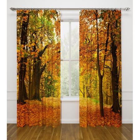 Купить Фотошторы Стильный дом «Осенний листопад»