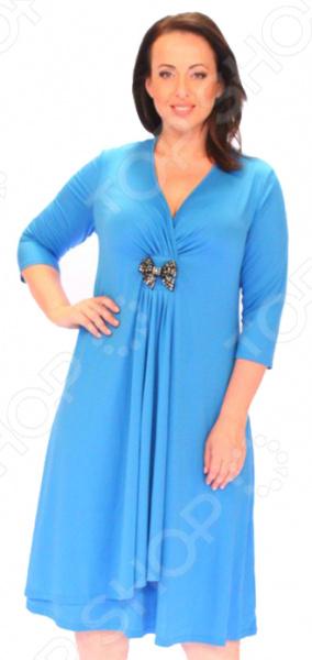 Платье Svesta «Адель Шампанская». Цвет: синий
