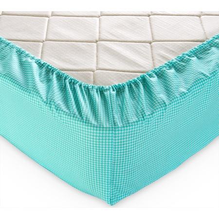 Купить Простыня на резинке ТексДизайн «Текстура». Цвет: мятный