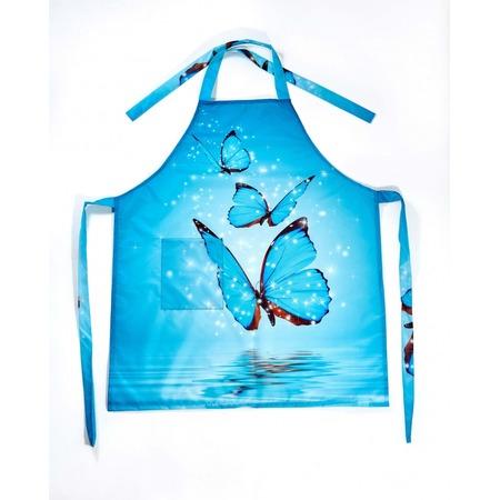 Купить Фартук Сирень «Волшебные бабочки»