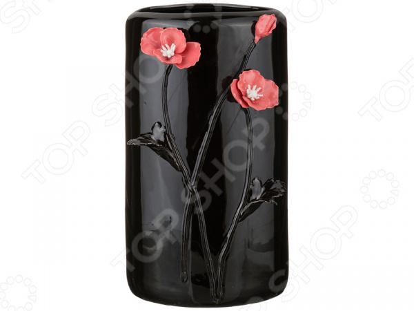 Ваза декоративная Lefard «Маки» 146-578 ваза lefard ива 146 576