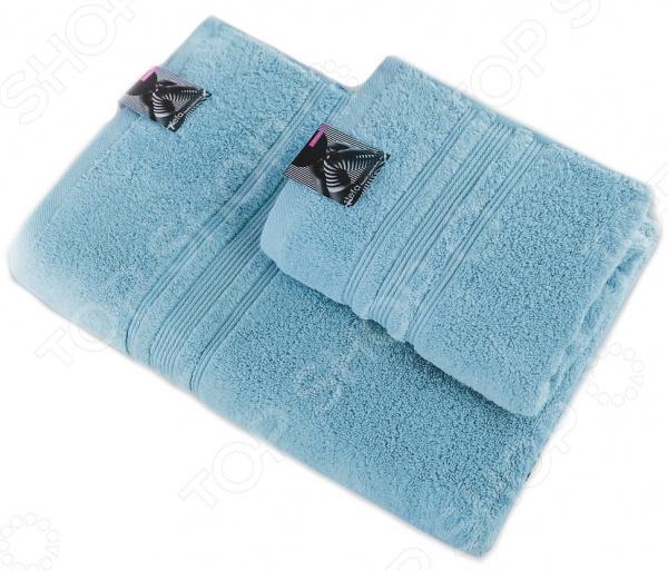 Полотенце махровое Василиса «Стефа» Version 2. Цвет: светло-голубой полотенца oran merzuka полотенце sakura цвет светло лиловый набор