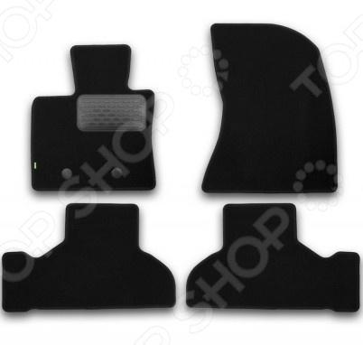 Комплект ковриков в салон автомобиля Klever BMW X5 F15 2013 Standard накладки на пороги bmw x5 iii f15 2013 carbon