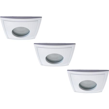 Купить Светильник встраиваемый для ванной Arte Lamp Aqua A5444PL-3WH