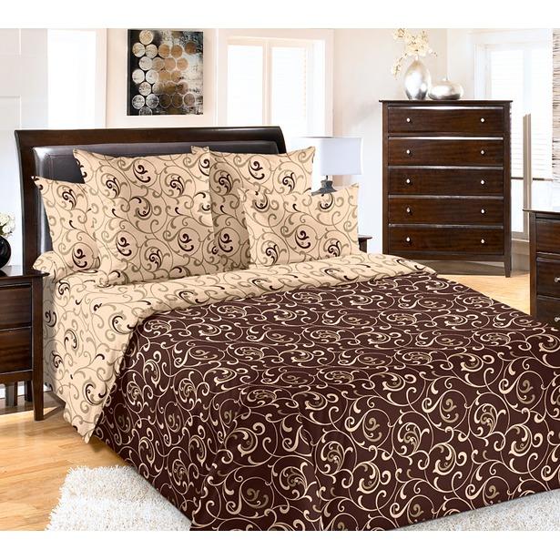 фото Комплект постельного белья Королевское Искушение «Вензель-1». Размерность: 2-спальное. Размер простыни: 220х240 см