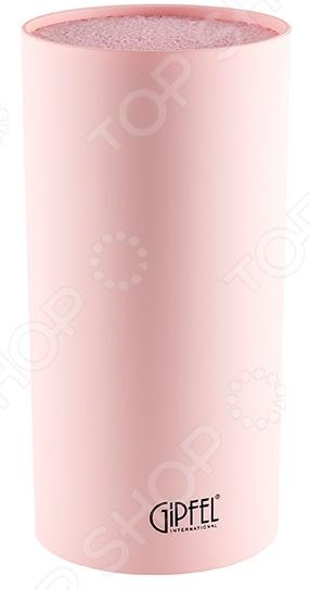Подставка для ножей Gipfel Malatti gipfel подставка под ножи malatti 22х11 см розовая