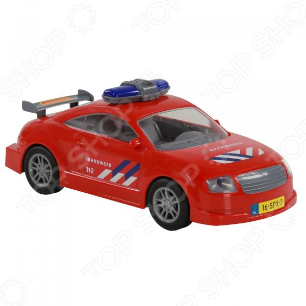 Машинка инерционная игрушечная POLESIE «Пожарный автомобиль» автомобиль volvo пожарный 8787