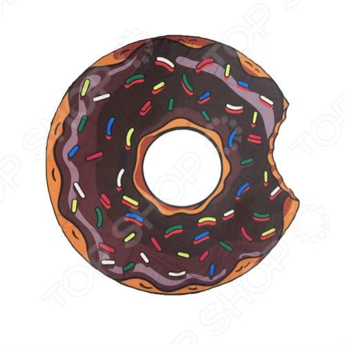 Покрывало-парео пляжное Beach Towel «Шоколадный пончик»