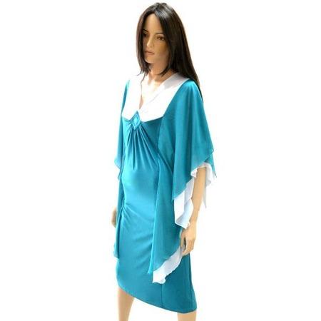 Купить Платье Klimini «Чайка». Цвет: зеленый