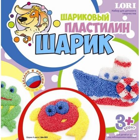 Купить Набор шарикового пластилина Lori «Шарик» 291105
