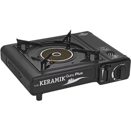 Купить Плита газовая портативная TOURIST TS-201 Keramik Guru Plus