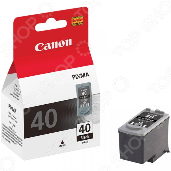 Картридж струйный Canon PG-40 картридж canon pg 40